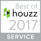 The Wall Sticker Company's Houzz Award for service 2017