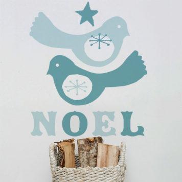 Birdie Noel Christmas wall sticker by Printspace