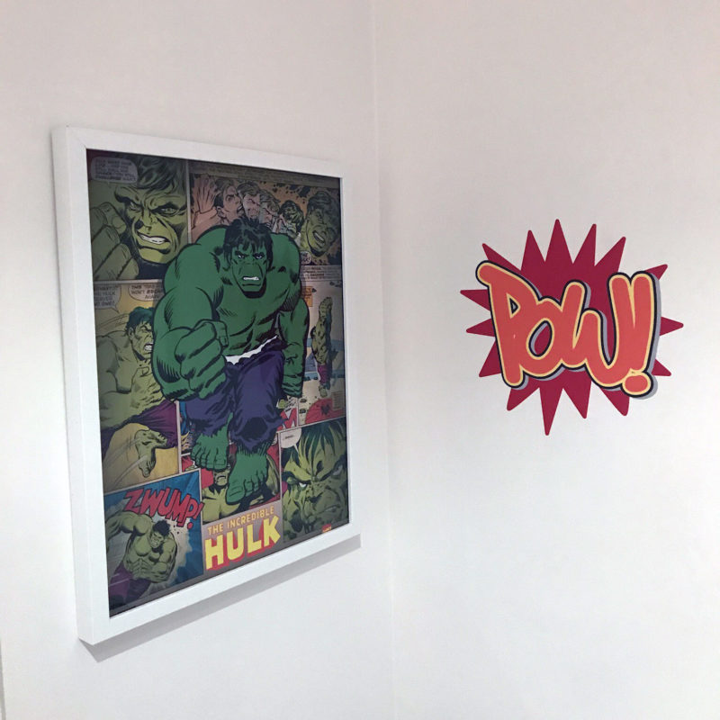 Kapow removable wall stickers
