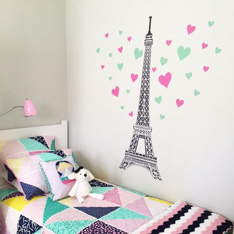 Nice Eiffel Tower Wall Sticker