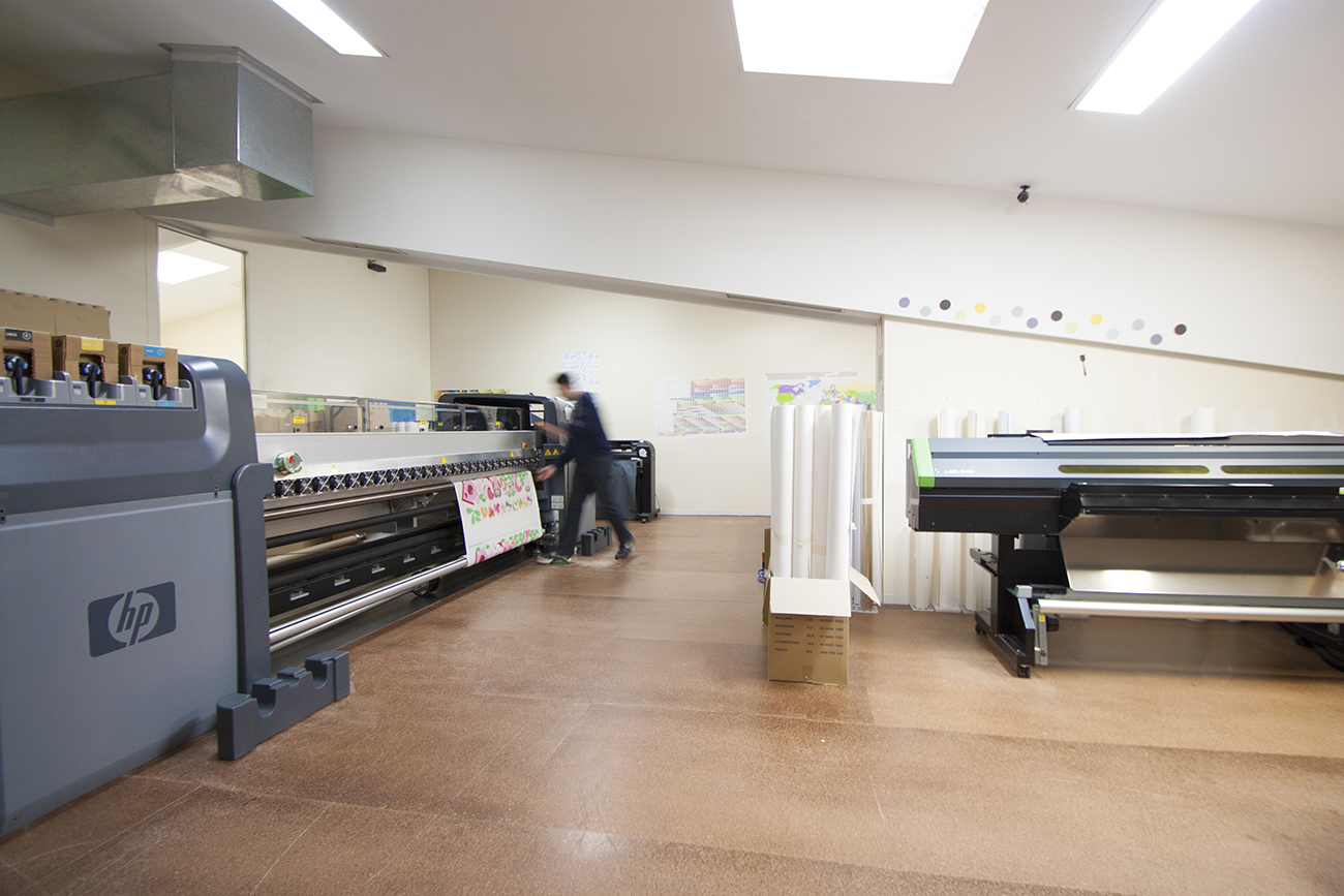The Wall Sticker Company print room