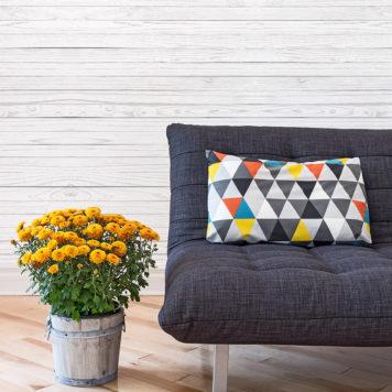 White Wood wallpaper