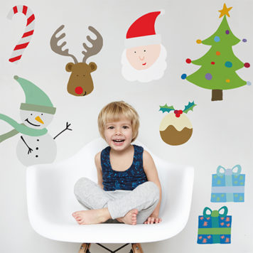 Christmas Friends wall stickers