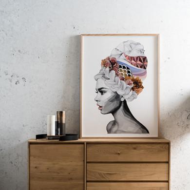 concrete wallpaper_Click On Furniture