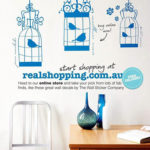 Birdcages Removable Wall Stickers in Real Living October 2010 Issue