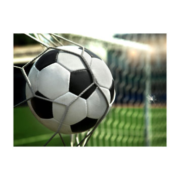 Soccer removable removable wall poster