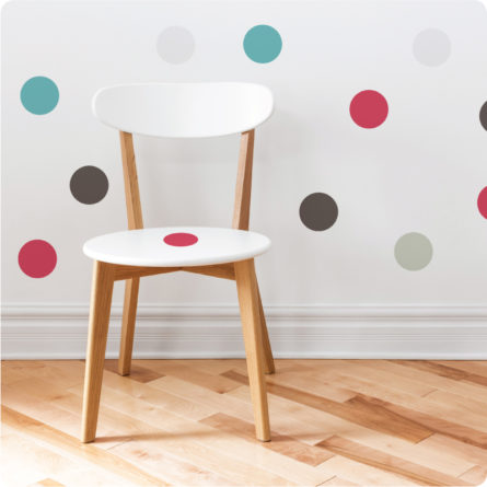 Spots 7.5cm removable wall stickers