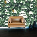 Tropical wallpaper in havana