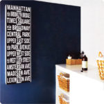 """Or as a Destination idea (see here in a custom size) as seen in Home Beautiful.  Walls painted in """"Great Void""""