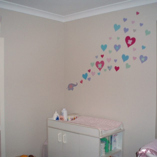 Hearts in Princess colourway|Hearts in custom colours|Hearts in Pretty Pinks|Hearts in Princess colourway