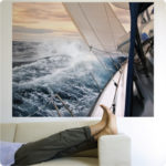What inspires you?  Sailing… or surfing?