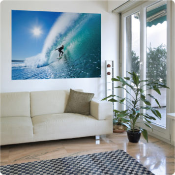 Inspiring removable posters for living room