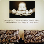 """The Redi home with """"Live"""" under a photo The Robb home have """"Live' in mica """"Live"""" quote is a touch of inspiration everyday Live quote also looks great in children's and teenager's rooms The Randall home Live in Carlisle Homes"""