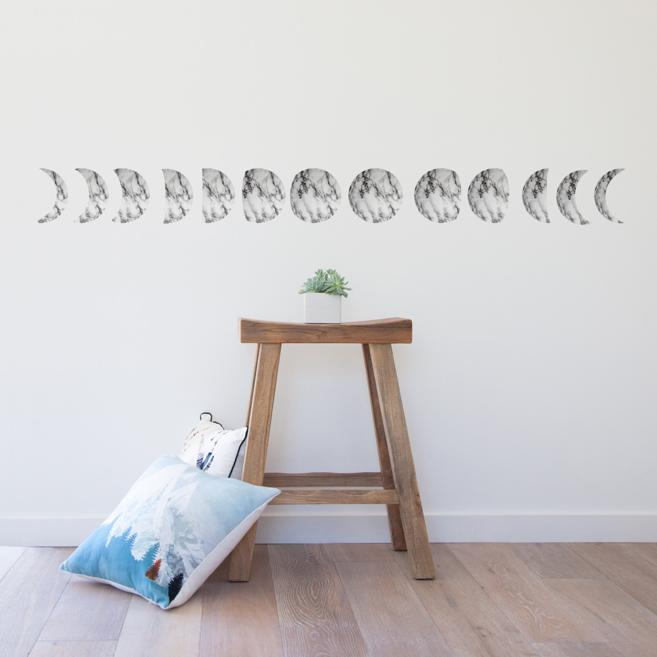Marble Moons Wall Stickers