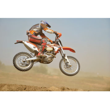 Motorcross removable wall poster