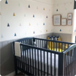 Triangles removable wall stickers