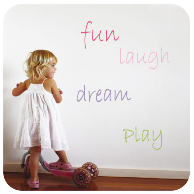 duck egg|Words removable wall stickers are fun & colourful
