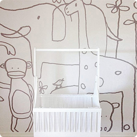 Zoo mural