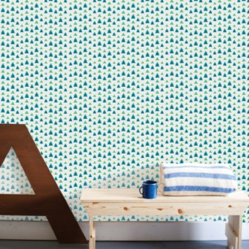 Mountain Range removable wallpaper Australia by Paige Russell