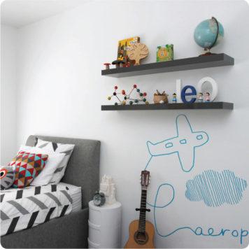 Aeroplane by Jane Reiseger in Boys Room