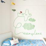 Aeroplane by Jane Reiseger in styled room