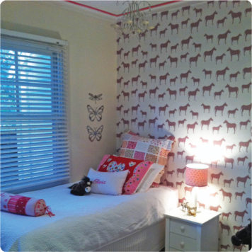 Horses removable wallpaper Australia for walls by Curio and Curio