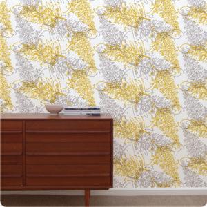 Grevillea removable wallpaper Australia