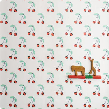 Small Cheri Cheri removable wallpaper Australia by Jane Reiseger