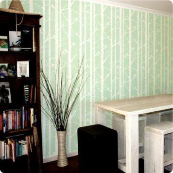 Birch wallpaper