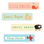 Name Labels DIY (QTY 16)