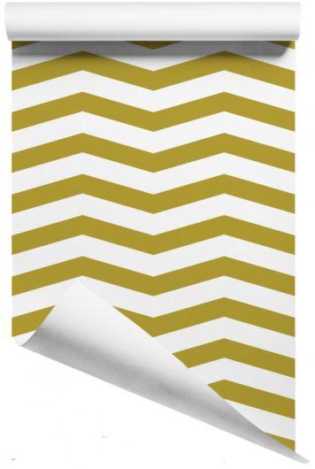 Rolled Skinny Chevron removable wallpaper Australia