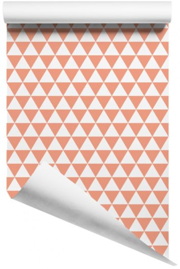 Rolled Triangles removable wall stickers for childrens rooms