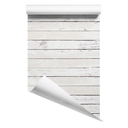 White Wood wallpaper sample
