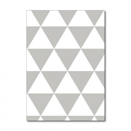 Wallpaper Sample in Triangles design