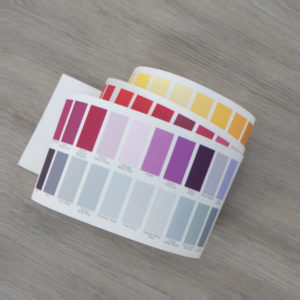 Colour Chart Sample