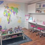 World Map removable wall mural