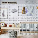 Arrows removable wallpaper in Real Living magazine