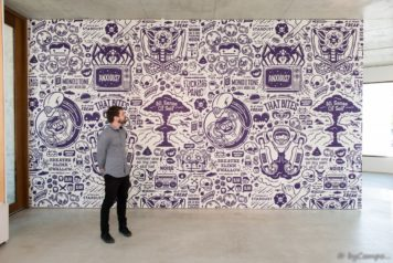 Custom Mural for Artist Cohen Gum