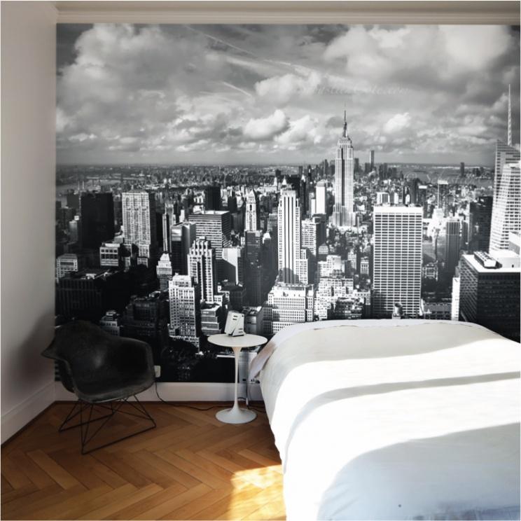 New york city removable wall mural australia for Sticker mural new york