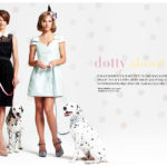 Spots removable wall stickers in Fashion magazine