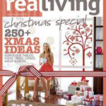 Christmas Tree removable wall sticker Real Living Magazine