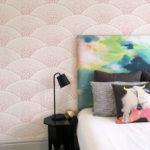 Shells wallpaper in Pink Dusk