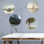 Round trips photographic decals
