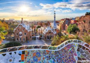 Custom Travel Mural Image - Barcelona Spain