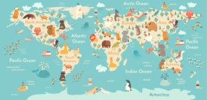 Custom Map Mural Image - Map 4