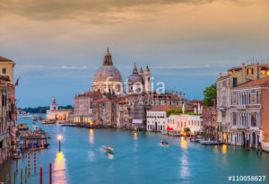 Custom Travel Mural Image - Venice Italy