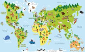 Custom Map Mural Image - Map 5