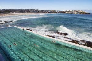 Australia Mural Image - Bondi Pool