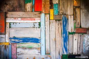 Custom Texture Mural Image - Wood Colour