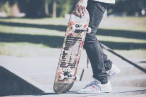 Custom Teen Mural Image - Skater